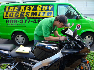 Waikiki Locksmith in a High-Tech Mobile Workshop